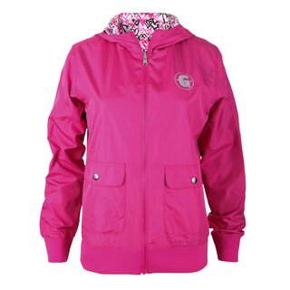 girls golf jacket turn around